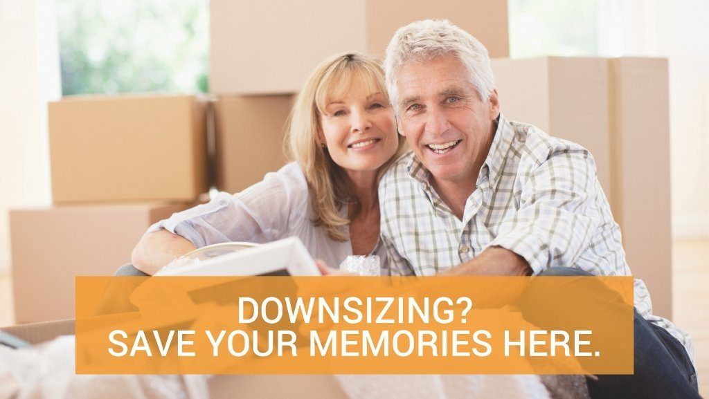 Downsizing? Store your memories here