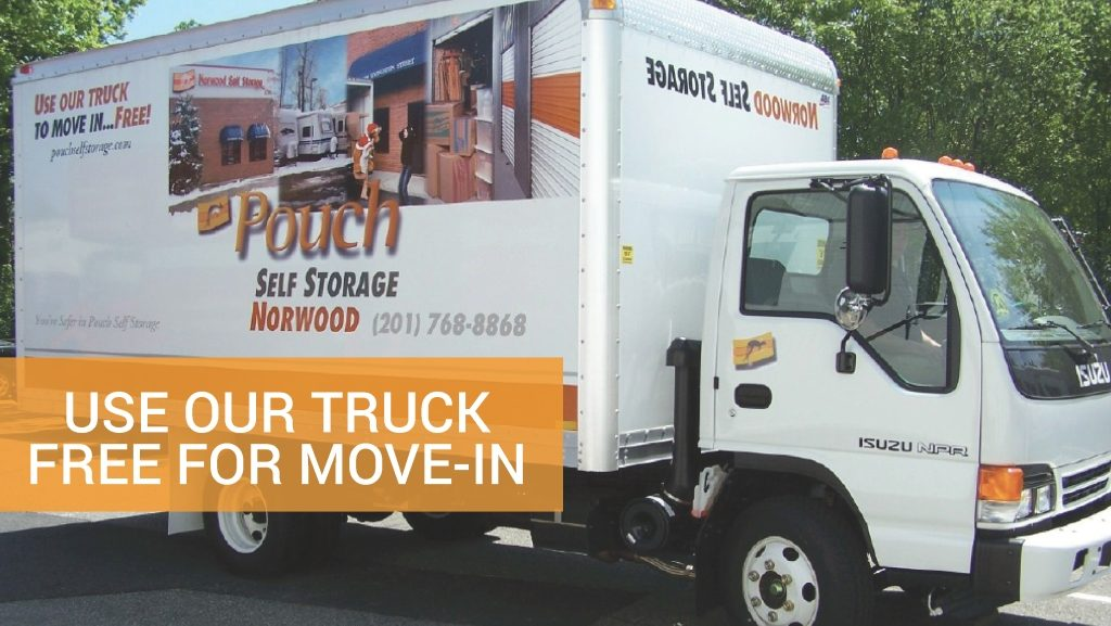 Use our truck free for move-in