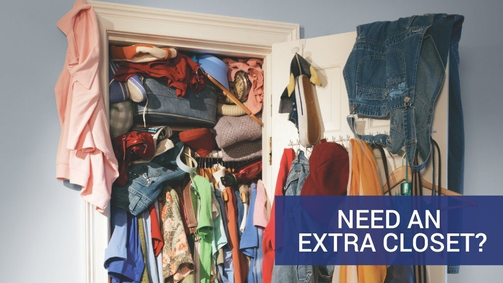 Need an extra closet?