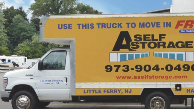 Storage Units In Little Ferry New Jersey Access Self