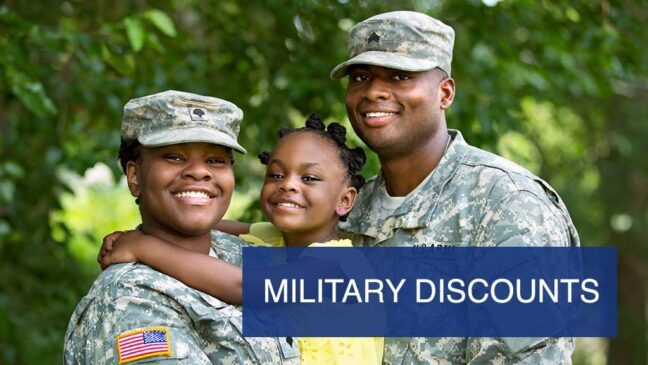 Military Discounts.