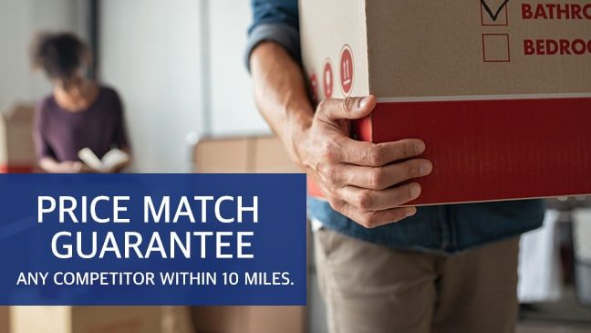 Price match guarantee any competitor within 10 miles.